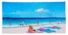 Lazy Day Beach Sheet by Jan Matson