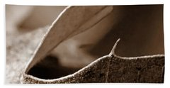 Beach Sheet featuring the photograph Leaf Collage 2 by Lauren Radke