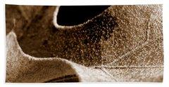 Beach Sheet featuring the photograph Leaf Collage 3 by Lauren Radke