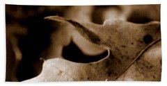Beach Sheet featuring the photograph Leaf Collage 4 by Lauren Radke