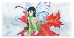 Leaf Fairy Beach Sheet