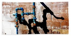 Beach Towel featuring the photograph Leaky Faucet II by Christiane Hellner-OBrien