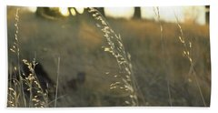 Leaves Of Grass Beach Towel