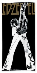 Led Zeppelin No.06 Beach Towel