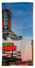 Leddy Boots Beach Towel