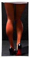 Beach Sheet featuring the digital art Legs... by Tim Fillingim