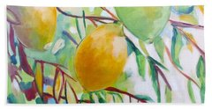 Lemons And Lime Beach Sheet