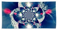 Lens Flare Beach Towel