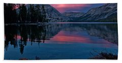 Lenticular Sunset At Tenaya Beach Towel
