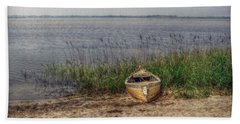 Beach Towel featuring the photograph L'etang by Hanny Heim