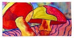 Letting My Freak Flag Fly Beach Sheet by Beverley Harper Tinsley