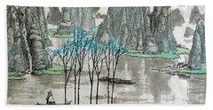 Li River In Spring Beach Towel