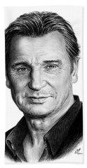 Liam Neeson Beach Sheet