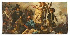 Liberty Leading The People, 28 July 1830 Beach Towel