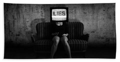Lies Beach Towel