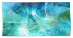 Life Is A Gift - Abstract Art Beach Towel