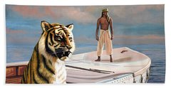 Life Of Pi Beach Towel