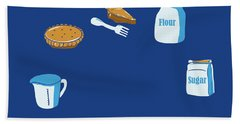 Life Of Pie Beach Towel