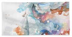 Life The Universe And Everything Beach Towel