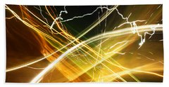 Light Curves 3 Beach Towel