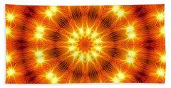 Light Meditation Beach Sheet