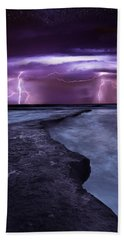 Light Symphony Beach Towel