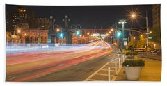 Light Traffic Beach Towel