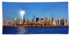 Lighthouse Manhattan Beach Towel
