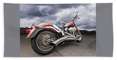 Lightning Fast - Screamin' Eagle Harley Beach Sheet