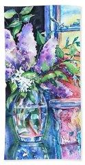 Lilac Light Beach Sheet