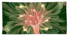 Lily In Bloom Beach Towel
