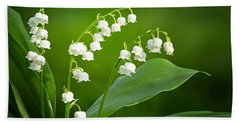 Lily Of The Valley Beach Sheet