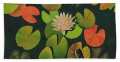 Lily Pond Beach Towel