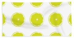 Limes Beach Towel by Jocelyn Friis