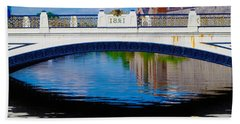 Sean Heuston Dublin Bridge Beach Towel