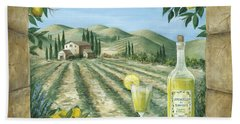 Limoncello Beach Towel