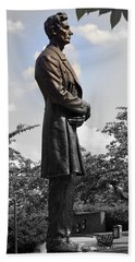 Lincoln At Lytle Park Beach Towel by Kathy Barney