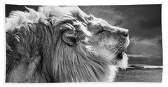 Lions Breath Beach Towel