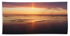 Liquid Sunrise Beach Towel