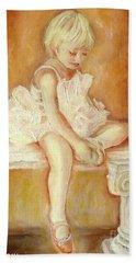 Little Ballerina Beach Towel