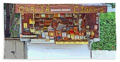 Little Cigar Shop Key West Beach Sheet