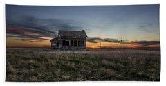Little House On The Prairie Beach Towel