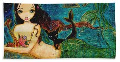 Little Mermaid Beach Towel