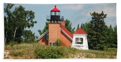Little Traverse Lighthouse No.2 Beach Towel
