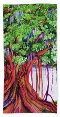 Living Banyan Tree Beach Towel