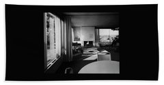 Living Room In Mr. And Mrs. Walter Gropius' House Beach Towel