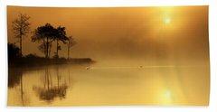 Loch Ard Morning Glow Beach Towel