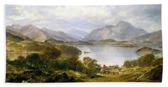 Loch Lomond, 1861 Beach Towel