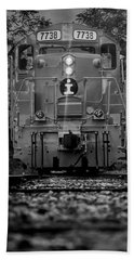 Locomotive 7738 Beach Towel