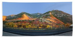 Logan Canyon Beach Towel